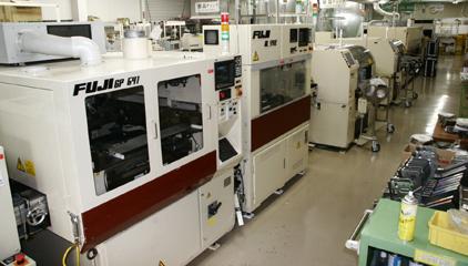 SMT実装設備Bライン(鉛フリー/共晶)